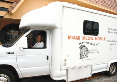 The Meow Mobile is Coming to Your South Florida Neighborhood This October!