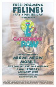 Cattorneys At Paw Poster
